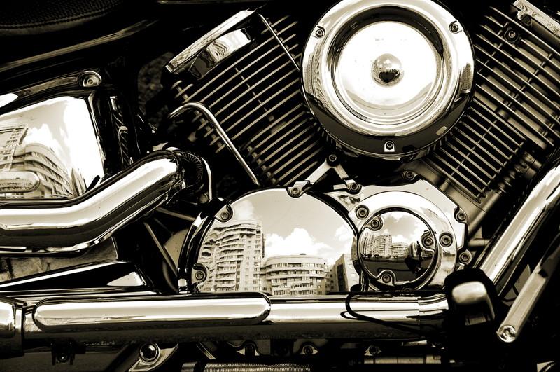 ハーレー エンジン マフラー